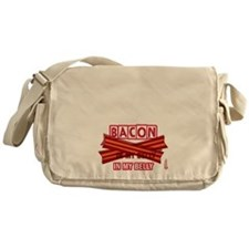 Bacon IN MY BELLY! Messenger Bag