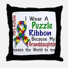 Means World To Me 4 Autism Throw Pillow