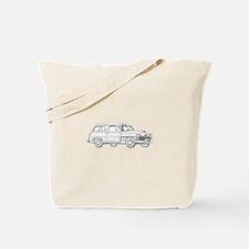 1950 Mercury Woodie Tote Bag