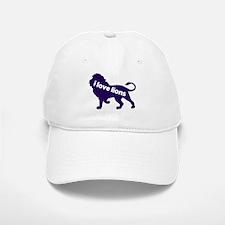 i love lions Baseball Baseball Cap