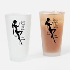 Cute Dancing Drinking Glass