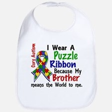 Means World To Me 4 Autism Bib