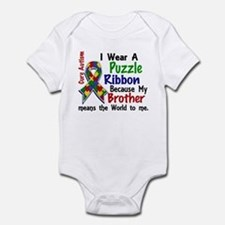 Means World To Me 4 Autism Infant Bodysuit