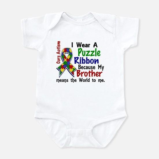 Means World To Me 4 Autism Infant Bodysuit