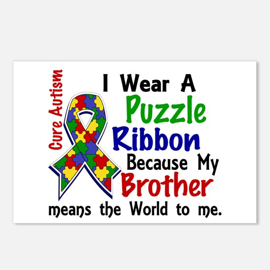 Means World To Me 4 Autism Postcards (Package of 8