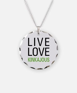 Live Love Kinkajous Necklace