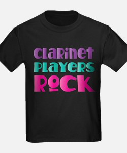 Clarinet Players Rock T-Shirt