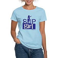 SUPgirl_T5_blue T-Shirt