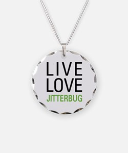 Live Love Jitterbug Necklace