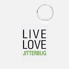Live Love Jitterbug Keychains
