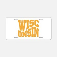 Wisconsin Aluminum License Plate
