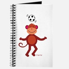 Monkey at Soccer - Head Bounce Journal