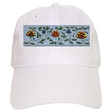 Harvest Moon's Vining Flowers Baseball Cap