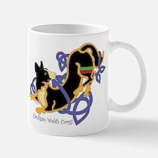 Celtic Cardigan Welsh Corgi (Tri) Mug