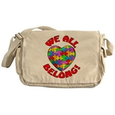 We All Belong Messenger Bag