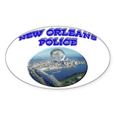 NOPD Badge in the Sky Decal
