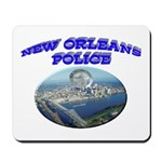 NOPD Badge in the Sky Mousepad