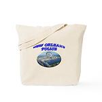 NOPD Badge in the Sky Tote Bag