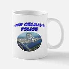 NOPD Badge in the Sky Mug