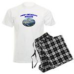 NOPD Badge in the Sky Men's Light Pajamas