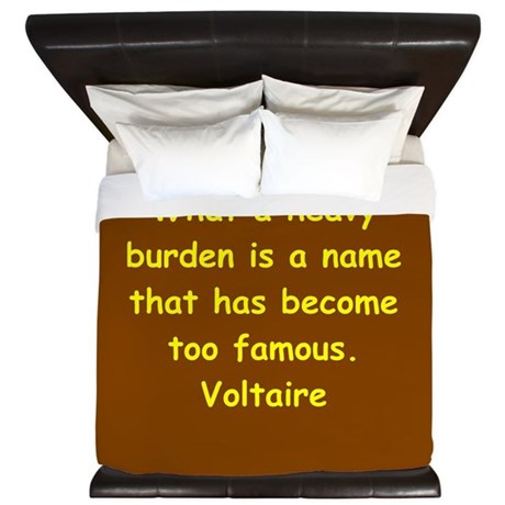 victor hugo quote King Duvet