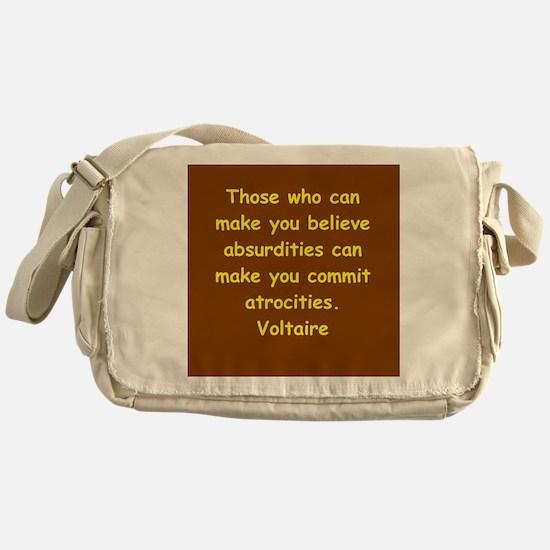 victor hugo quote Messenger Bag