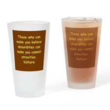 victor hugo quote Drinking Glass