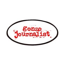 Gonzo Journalist Patches