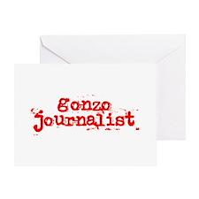 Gonzo Journalist Greeting Card