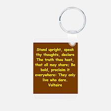 victor hugo quote Keychains