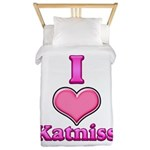 I Heart Katniss 1 Twin Duvet