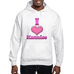 I Heart Katniss 1 Hooded Sweatshirt