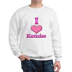 I Heart Katniss 1 Sweatshirt