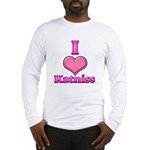 I Heart Katniss 1 Long Sleeve T-Shirt