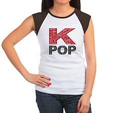 KPOP Artists Women's Cap Sleeve T-Shirt