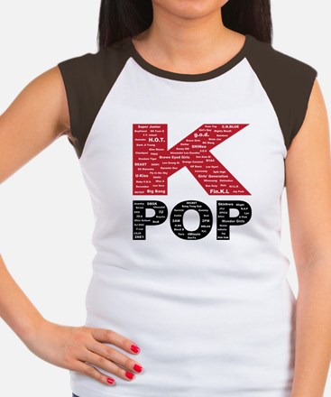 KPOP Artists Women's Cap Sleeve T-Shirt