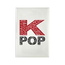 KPOP Artists Rectangle Magnet