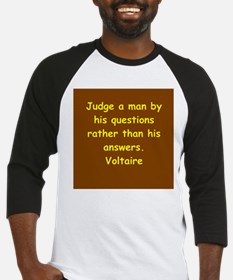 victor hugo quote Baseball Jersey