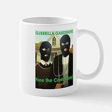 """""""Free the Commons"""" Guerrilla Gardeners Mug"""
