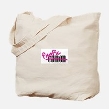 Canon/Fanfic Tote Bag