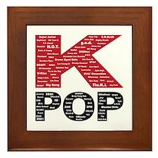 KPOP Artists Framed Tile