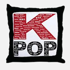 KPOP Artists Throw Pillow