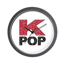 KPOP Artists Wall Clock