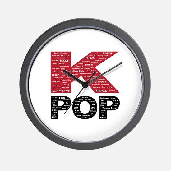 KPOP Artists Wall Clock