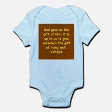 victor hugo quote Infant Bodysuit