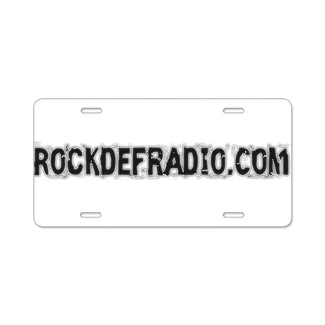 Magnets & Stickers Aluminum License Plate