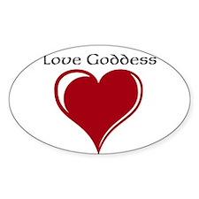 Love Goddess Decal