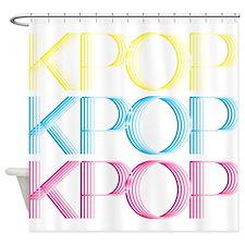 KPOP Neon Shower Curtain