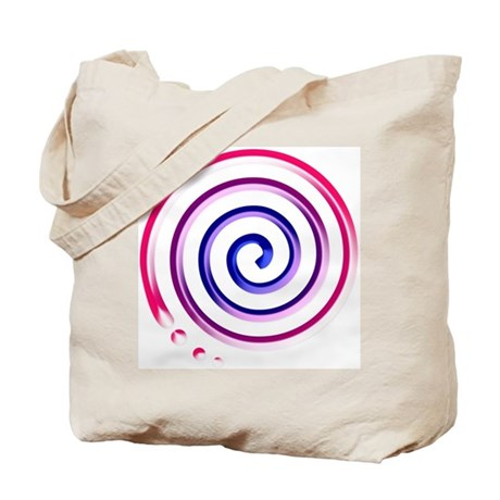 bi spiral Tote Bag