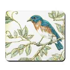 """EASTERN BLUEBIRD"" Mousepad"